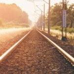 trem de energia solar