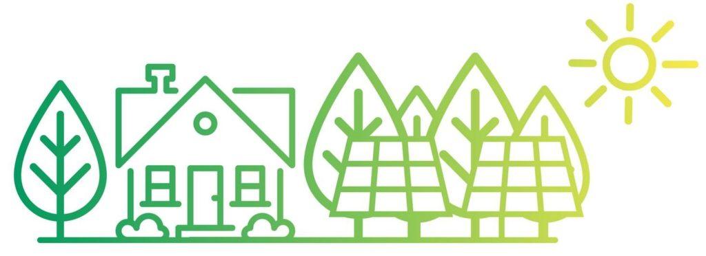 Paneles solares para casas de campo