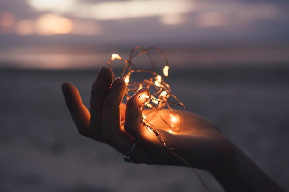 Energía en la palma de la mano