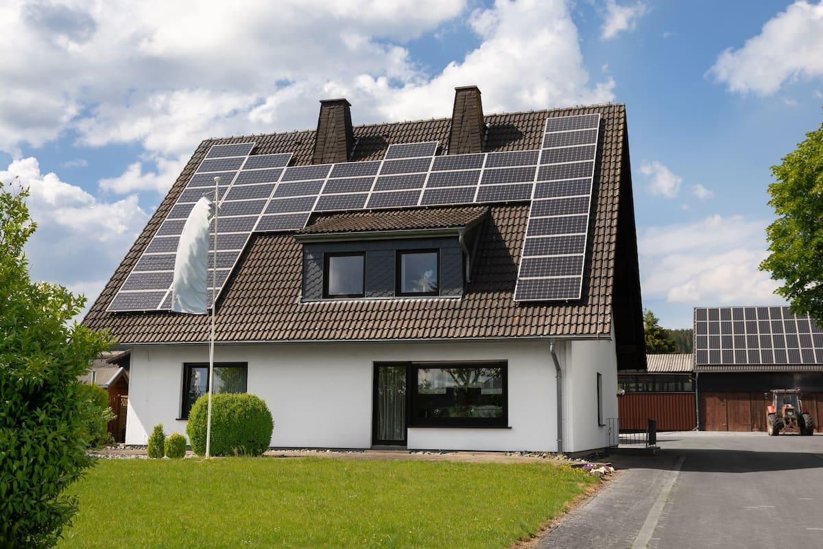 placas solares en viviendas unifamiliares