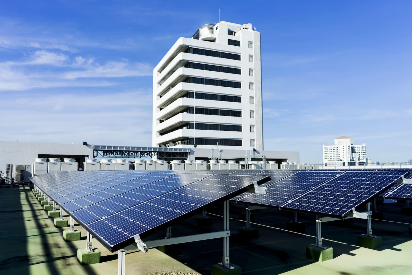instalaciones fotovoltaicas en edificios en altura